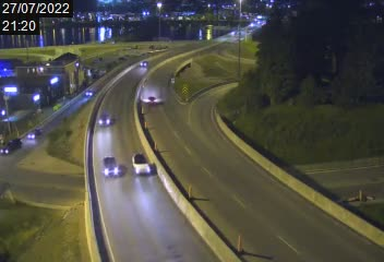 Pont Dubuc Chicoutimi direction Nord